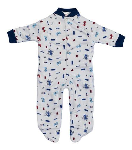 Pijama bebé térmica enteriza estampado para niño