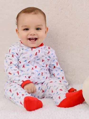 Pijama con piecesitos bebé jockids x 3unds