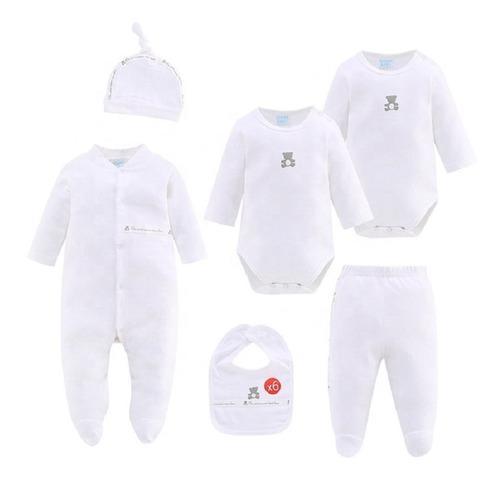 Set primera muda ajuar del bebé 100% algodón