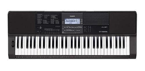 Teclado casio ct x800 organeta disponible 5 octavas sensible