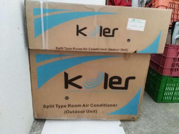 Vendo aire acondicionado convencional koler 12000 btu
