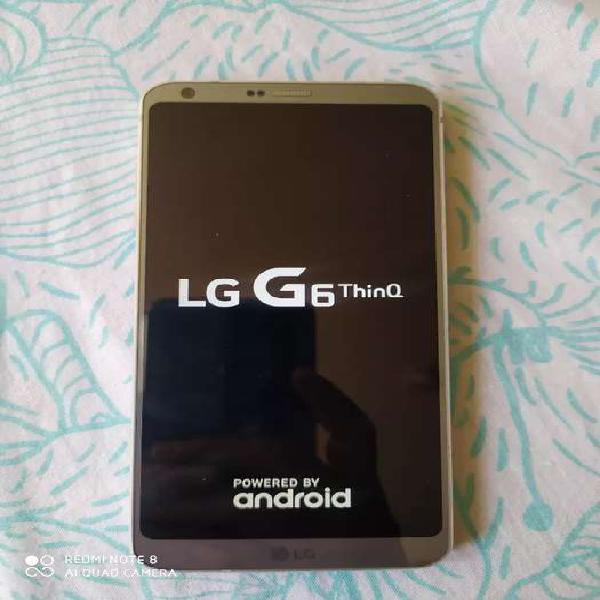 Vendo hermoso lg g6