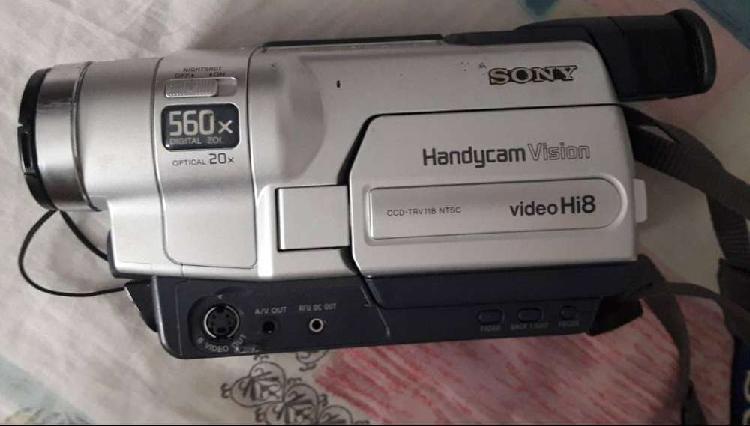 Video cámara sony handycam hi8 ccd-trv11812