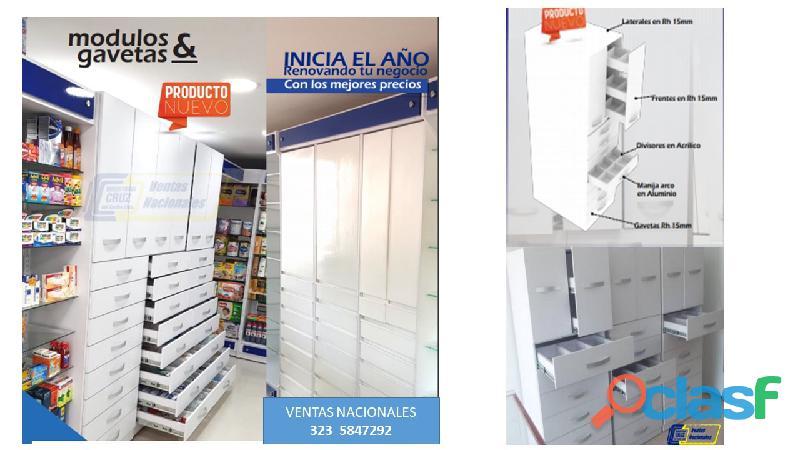 Muebles metálicos para control de medicamentos