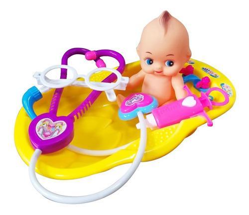 Bebé 15cm bañera tina ducha baño accesorios doctor ref