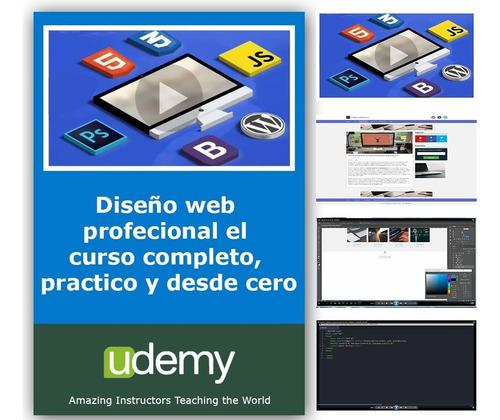 Curso diseño web profesional 253 videos