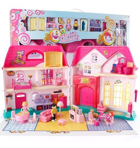 Oferta casa de muñecas sweet family grande niñas