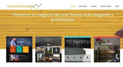 Pagina web full soporte diseño profesional