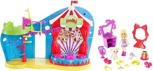 Polly pocket circo de mascotas muñeca y accesorios