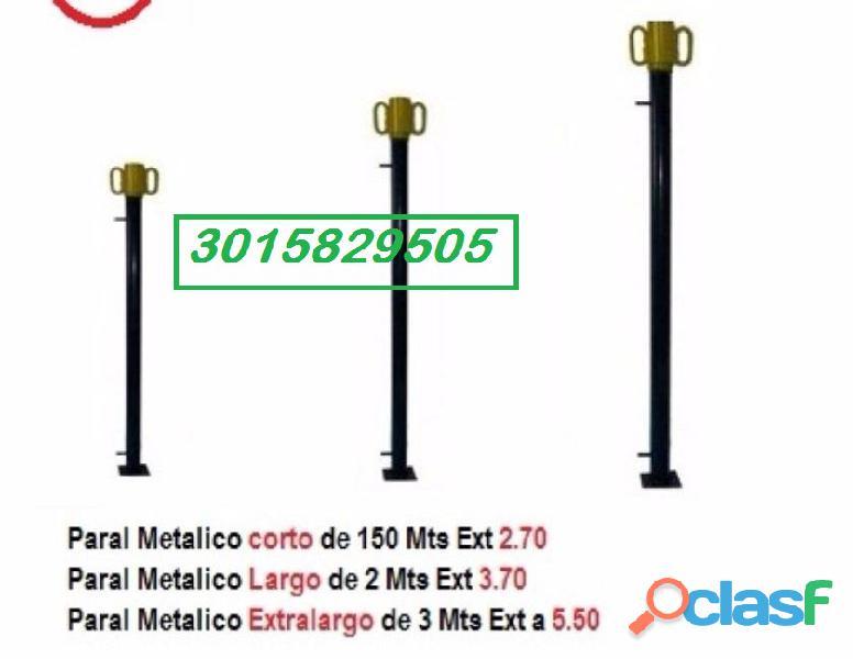 PARAL METALICO DE 1.50 MT 1