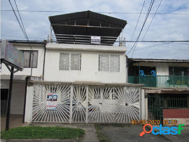 Casa bifamiliar barrio centenario, 2 pisos+plancha 3ro jamundi. 219m2.