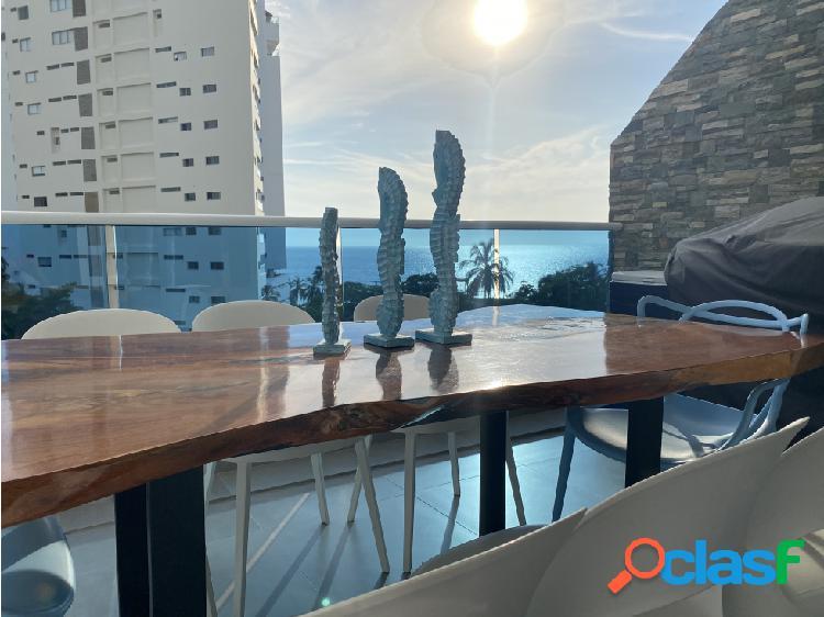 Venta apartamento playa salguero vista al mar - santa marta