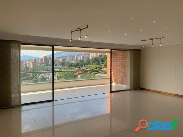 Venta de apartamento moderno con vista 360 en el poblado, medellín