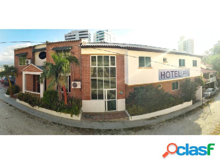Se vende hotel en rodadero sur, morro murujuy – santa marta – 05