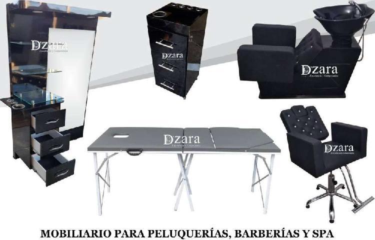 13 fábrica muebles para peluquería, barberia, lavacabezas,