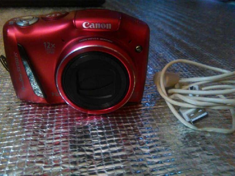 Camara semiprofesional canon powershot sx 150: 14mp, zoom x