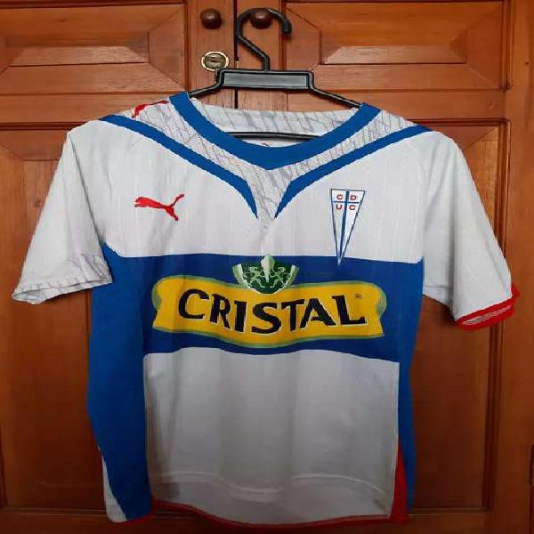 Camiseta fútbol. universidad católica (chile)