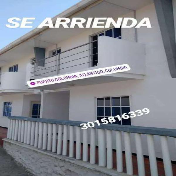 Casa en arriendo puerto colombia con vista al mar