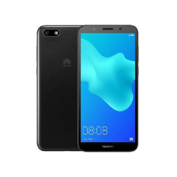 Celular huawei y5 2018 16gb, negro / azul