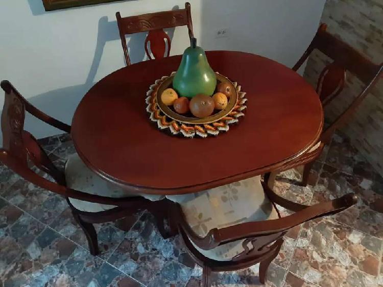 Comedor de madera 4 puestos