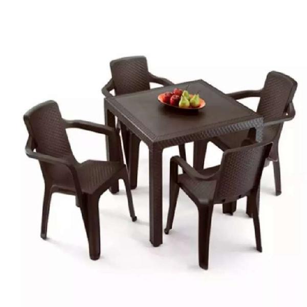 Mesa + 4 sillas rimax nuevas