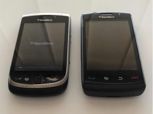 Vendo 2 blackberry para repuestos: torch (9800) storm (9550)