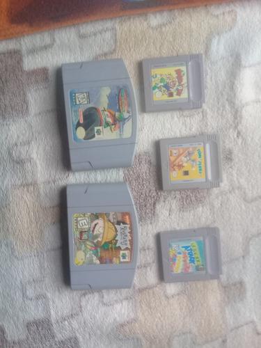 Juegos n64 y game boy