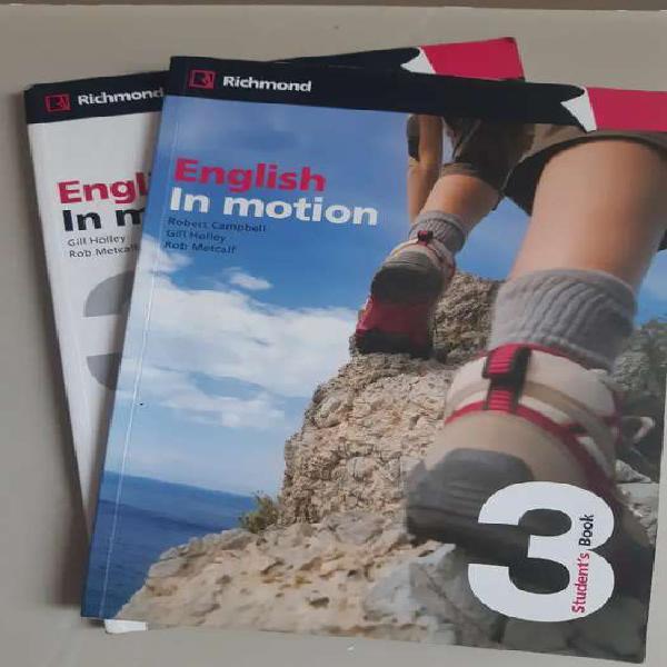 Libros de inglés english in motion 3 usados