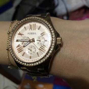 Reloj fossil original oro rosa