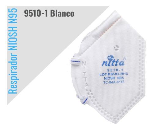 Tapabocas respirador marca nitta n95 certificacion niosh
