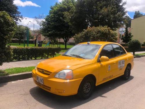 Taxi kia rio 2007 ¡listo para trabajar! precio negociable