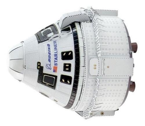 Nave espacial starliner: modelo para armar de fascinations