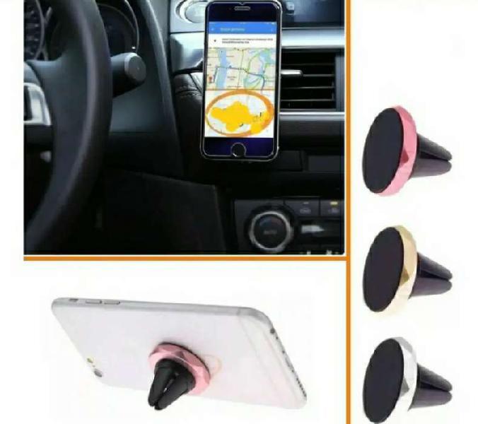 Soporte para celular imán rejilla ventilación aire carro