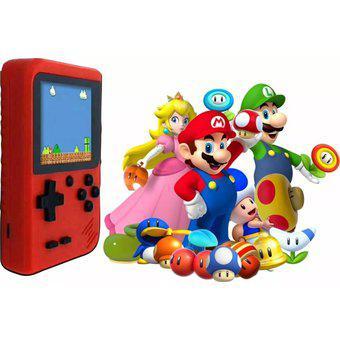Mini consola retro portátil tipo game boy 400 juegos play