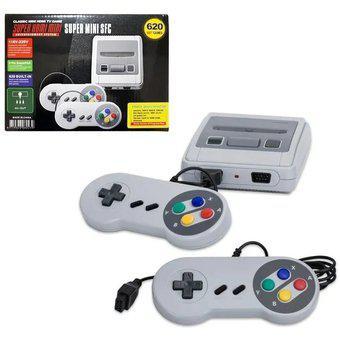 Mini consola retro video juegos 620 clásicos colección