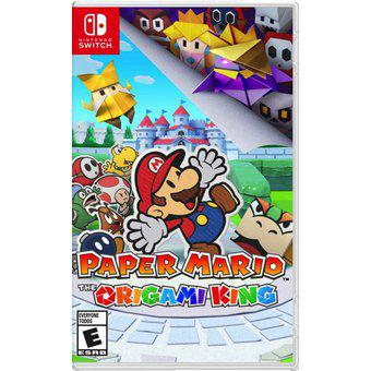 Paper mario the origami king switch juego nintendo
