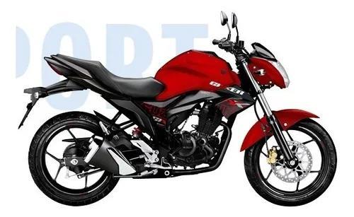 Suzuki gixxer modelo 2021 - financiacion