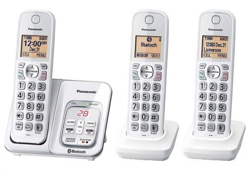 3 teléfono inalámbrico bluetooth panasonic link2cell