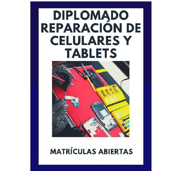 Diplomado en reparación de celulares y tablets