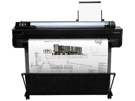 "Impresora - plotter hp t520 de 36"" para impresión en"