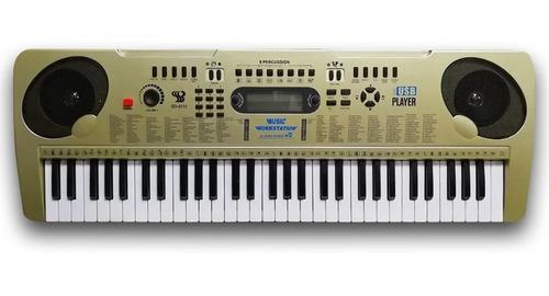 Organeta piano 61 teclas usb mp3 función de teacher