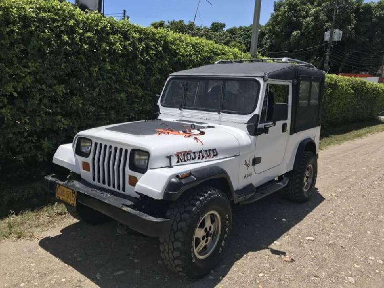 Vendo o permuto jeep wrangler