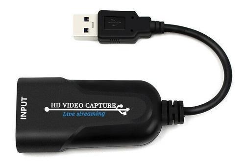 Capturadora video hdmi a usb 3.0 tarjeta 1080p juego stream