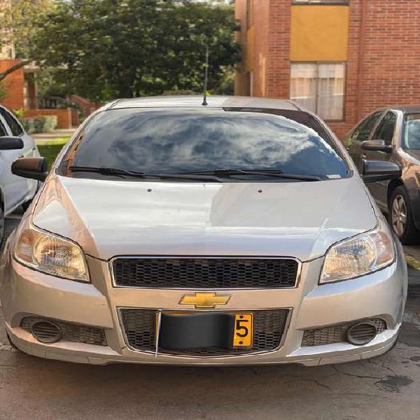 Chevrolet aveo gt emotion. aire acondicionado. modelo 2010