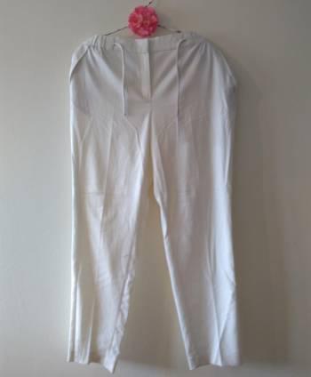 Pantalón - blanco - massimo dutti