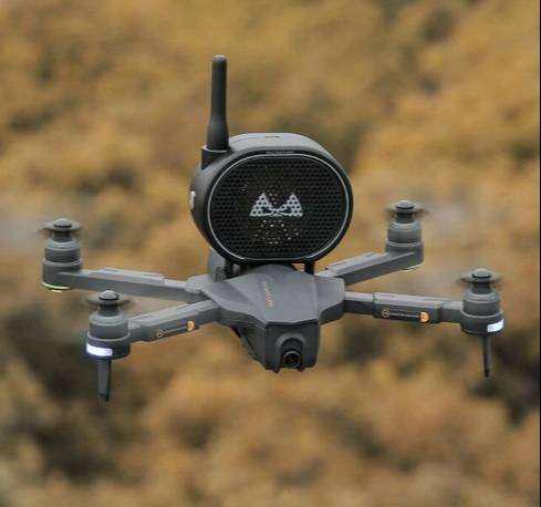 Parlante para drones dji megáfono para drones universal