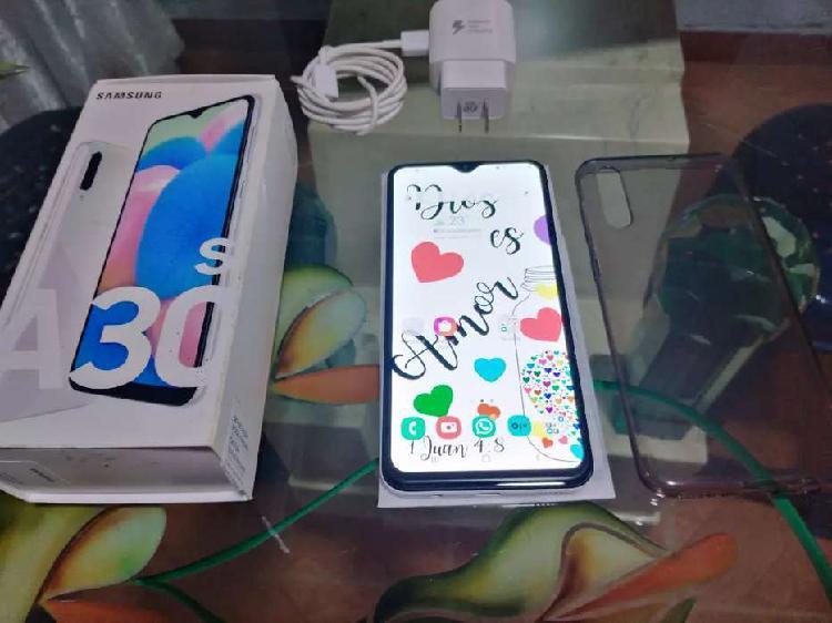 Samsung a30s como nuevo caja original