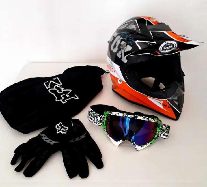 Vendo casco motocross