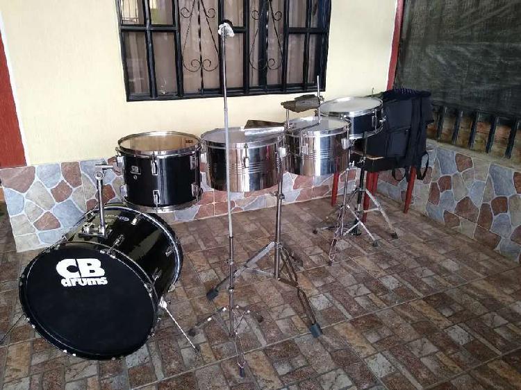 Batería contimbal de orquesta y vallenato cb drums