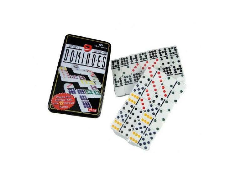 Juego de domino doble 9 juego de mesa familiar de seis
